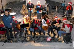 ZUŠ -Novoroční vystoupení 5.1.2020 kostel sv. Jiljí -Uhlířské Janovice - 06